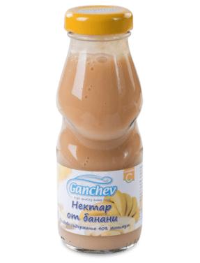 Ганчев Бебешки Нектар банан 200 мл.